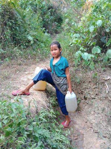 LAPOR PAK BUPATI! Warga Pulau Pandan Kesulitan Air Bersih
