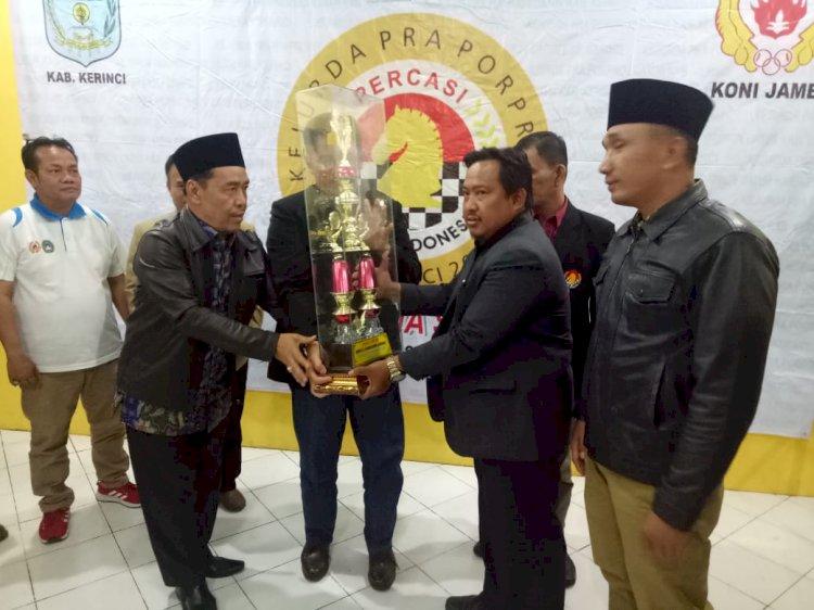 251 Atlit Berkompetisi Kejurda Catur Pra Porprov, Anwar: Syarat Wajib Ikuti Porprov 2020