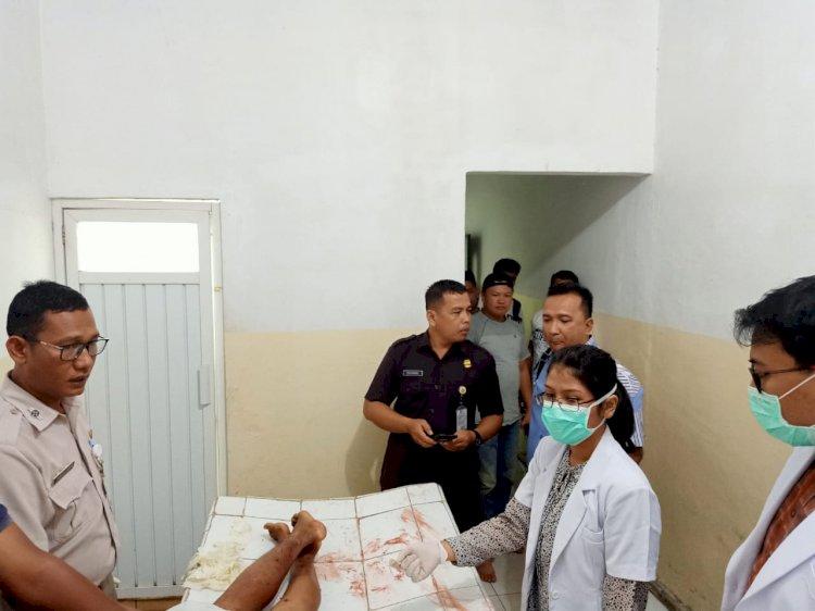 BREAKING NEWS!! Baku Tembak, Pencuri Senpi Kanit Reskrim Polsek Pauh Tewas Diterjang Peluru