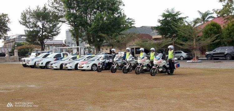 Teng! Polda Jambi Gelar Operasi Patuh, 300 Personil Diterjunkan