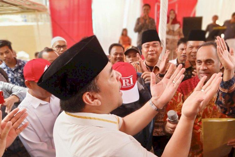 Ridwan Ibrahim, Adik Ipar Gubernur Jambi Ini Deklarasi Calon Bupati Bungo
