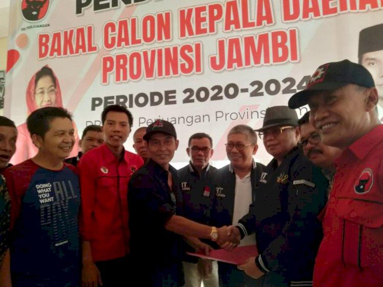 Daftar ke PDIP Ramli Taha Siap Maju Calon Gubernur Bersama Abdullah Sani