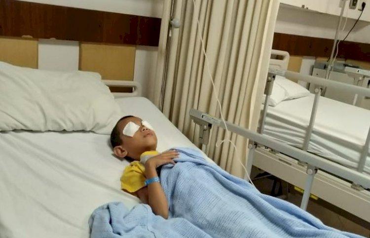 Meski Miliki Riwayat Sakit Mata, Sari Yakin Infeksi Mata Fikiri Disebabkan Kabut Asap Jambi