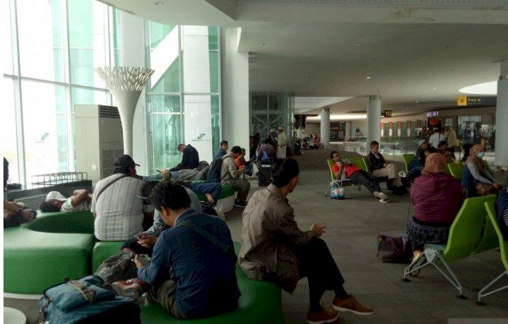 Duh, Pesawat Lion Air Batal Mendarat di Bandara Juwata Akibat Kabut Asap