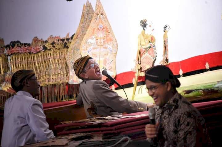 Lakon Kresno Duto, Anies: Wayang Kulit adalah Tontonan, Tuntunan & Tatanan