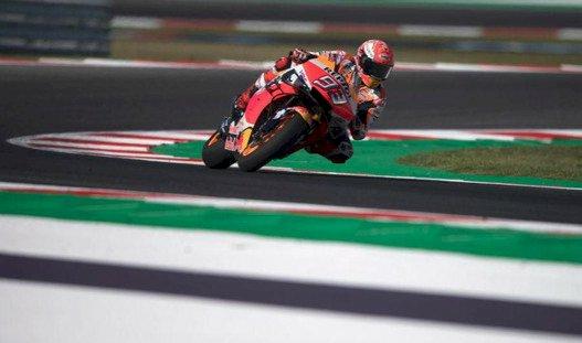 Marquez Juara Rossi Tertinggal, Hasil MotoGP San Marino