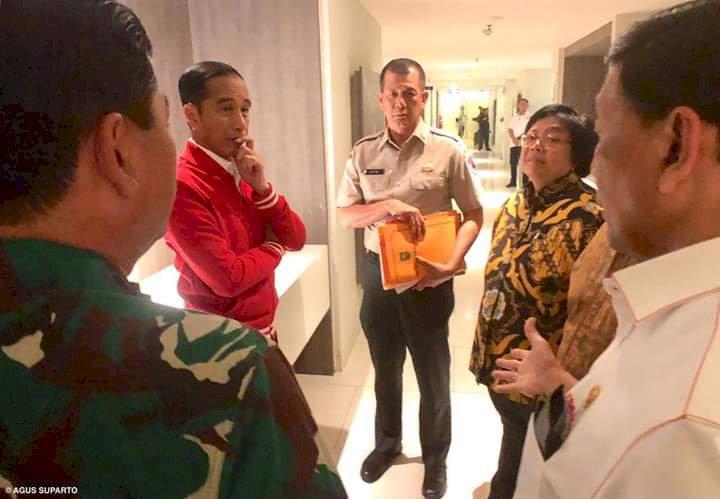 Jokowi Nilai Kerjasama Gubernur dan Perangkat Tidak Efektif Penanganan Karhutla