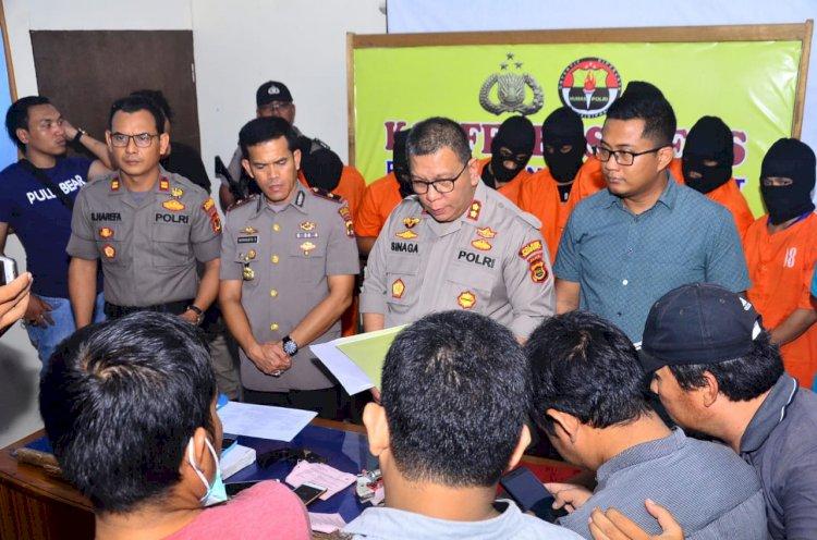 7 Komplotan Pencuri Sarang Walet Bersenpi Diringkus Polisi