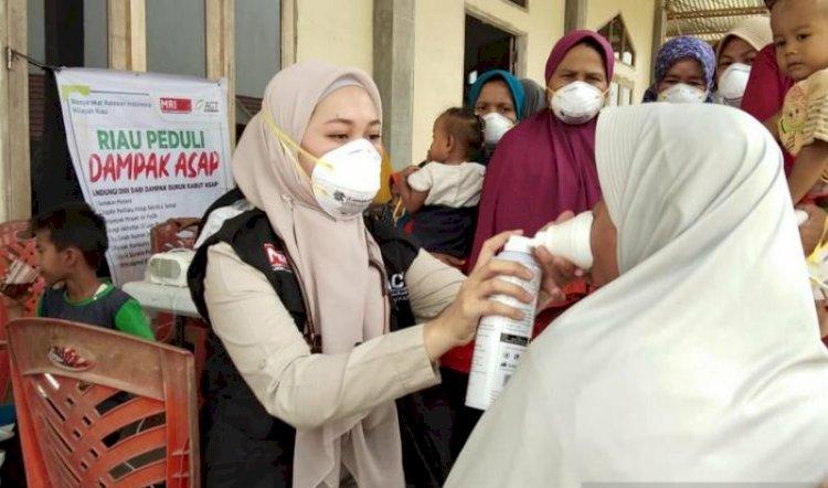 Warga Pekanbaru Borong Alat Pemurni Udara
