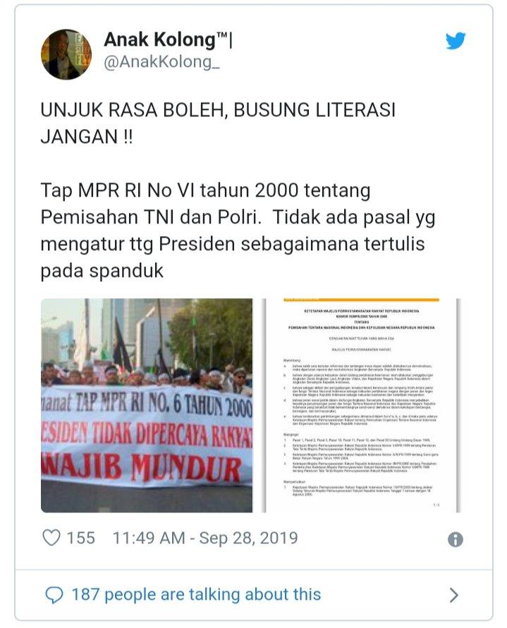 Viral Video Mahfud MD, Netizen Koreksi Spanduk 212