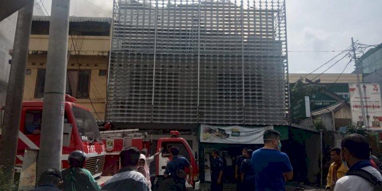 BREAKING NEWS!! Api Lalap Bank Syariah Mandiri Pasar Jambi