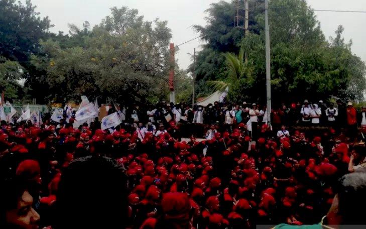 Dihadapan Ribuan Buruh, Said Iqbal: Kenaikan Iuran BPJS Kesehatan turunkan Daya Beli Buruh