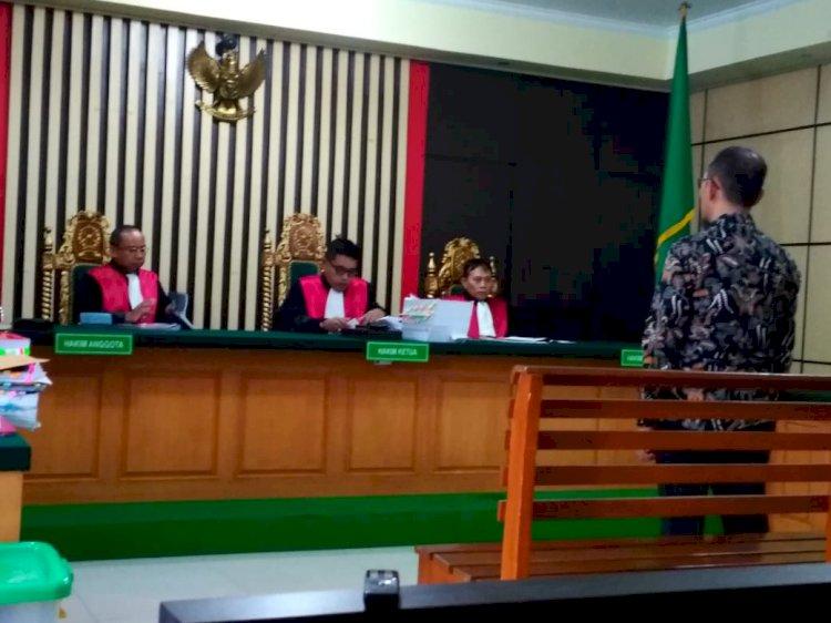 Terbukti Korupsi Taman Hijau Bungo, Hakim Vonis Efrin Hanya 1 Tahun