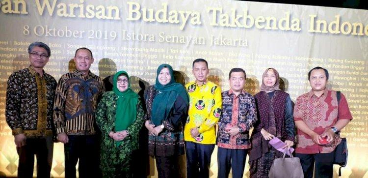 Bupati Muarojambi Hadiri Penetapan Warisan Budaya Tak Benda di Istora Senayan