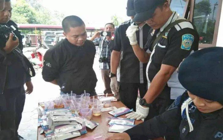 DUHHH!! Oknum Anggota DPRD Kapuas Ditangkap Diduga gunakan Narkoba