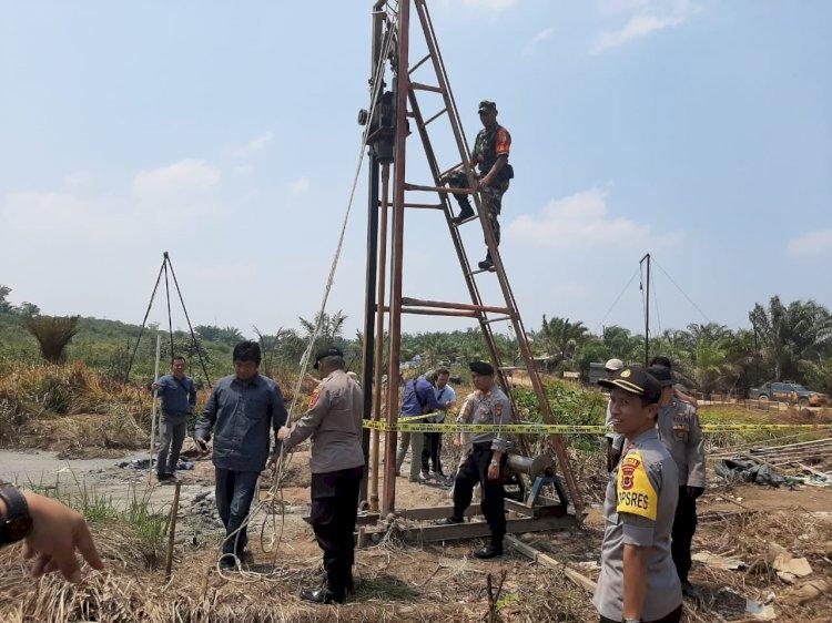 Kapolres Sebut Saat Razia Pelaku Ilegal Drilling Sudah Kabur