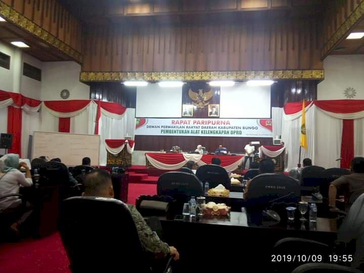 DPRD Bungo Bentuk AKD, Ini Susunan Lengkapnya...!