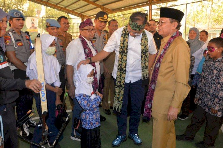Dampingi Mensos, Gubernur Jambi Ajak Semua Pihak Bersinergi Beri Perlindungan Bagi Anak