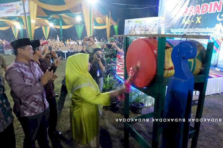Buka Porsadin ke-X Tingkat Kabupaten Muarojambi, Masnah: Jadilah Generasi Qur'ani