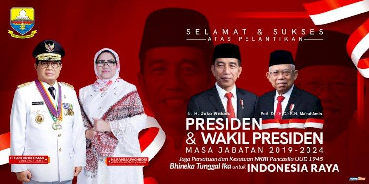 Fachrori Berharap Dibawah Kepemimpinan Jokowi-Ma'aruf Amin Indonesia Semakin Maju