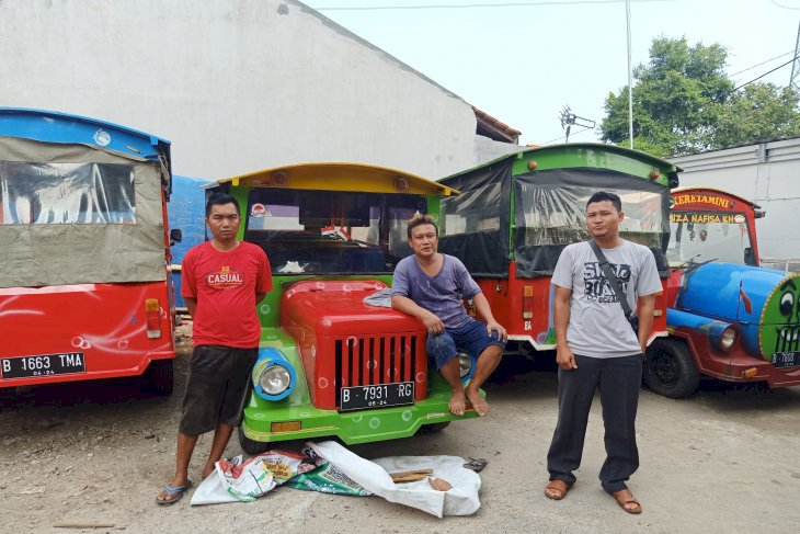 Nasib Odong-odong Jelang Larangan Mengaspal di Ibu Kota Jakarta