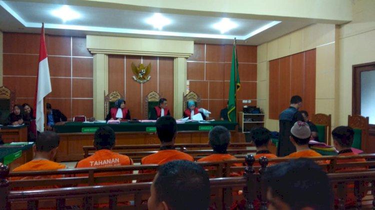 8 Terdakwa SMB Lainnya Kembali Ajukan Eksepsi, PH: Agar Hakim Dapat Mengambil Putusan Sela