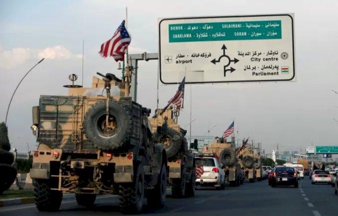 Menhan Irak Sebut Rudal Jatuh di Dekat PangkalanMiliter Pasukan AS