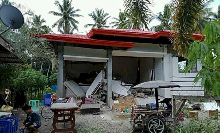 Gempa Magnitudo 6,6 Guncang Hebat Filipina Selatan