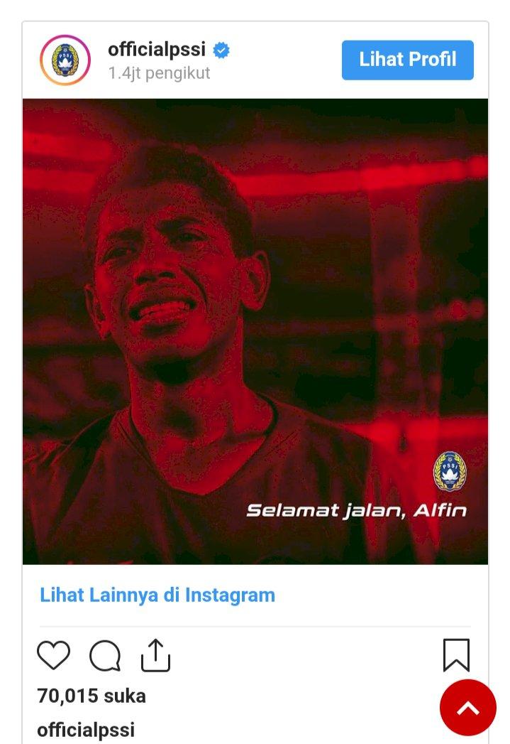 Indonesia Berduka, Pemain Timnas U-16 Alfin Lestaluhu Meninggal Dunia