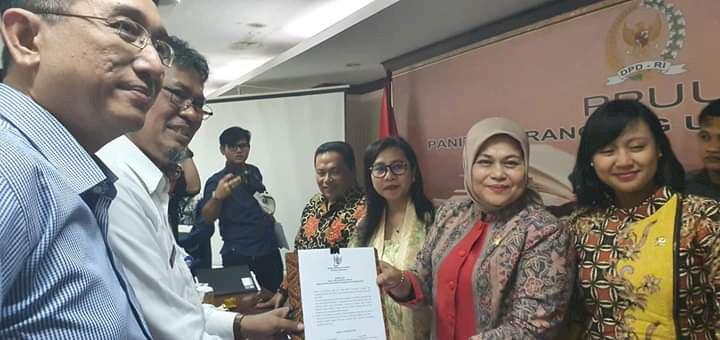 Raker Bersama BPKP, Elviana: DPD Dorong Sekretaris Dana Desa Kembali Dipegang ASN