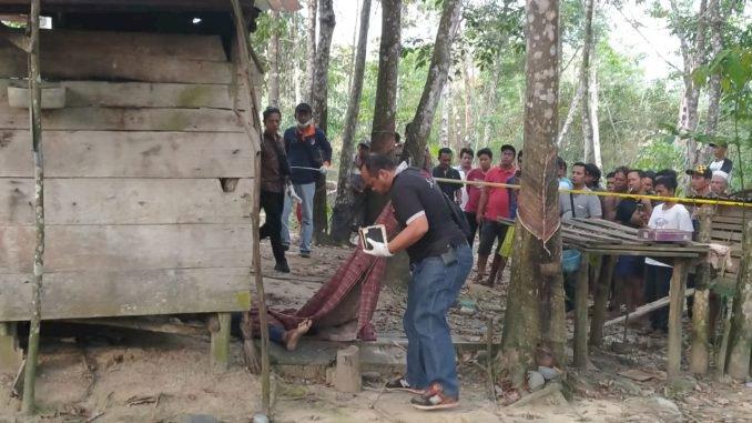 Warga Tebo Gempar Temukan Pria Berlumuran Darah di Kebun