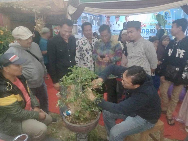 Komunitas Bonsai Kota Sakti Ramaikan Pekan Harmoni & Sungai Penuh Expo