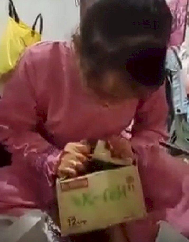 Viral Video Pengantin Buka Kado Terindah dari Mantan, Ternyata Isinya...