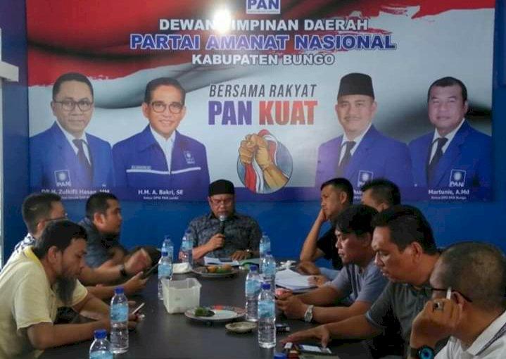 Meski Dua Kader Dapat Rekomendasi, DPD PAN Bungo Tetap Buka Pendaftaran