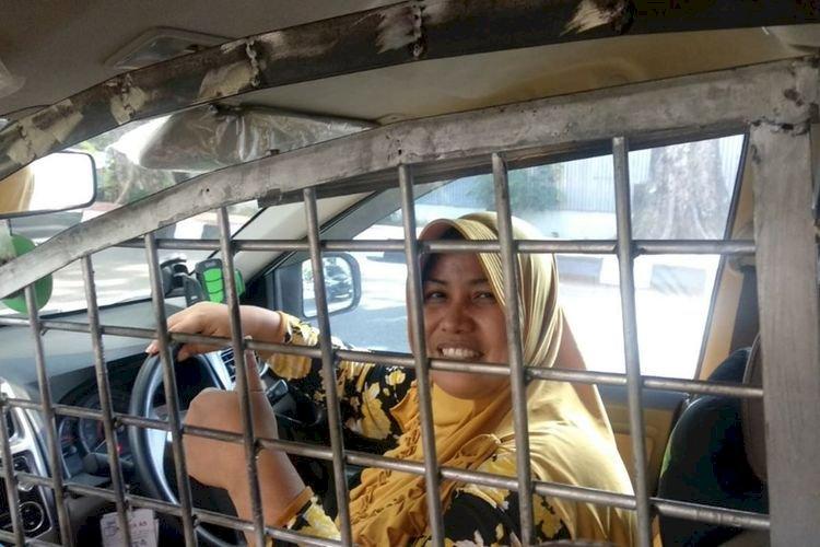 Begini Driver Taksi Online di Palembang Ini Tangkal Begal, Bikin Terkejut Penumpang