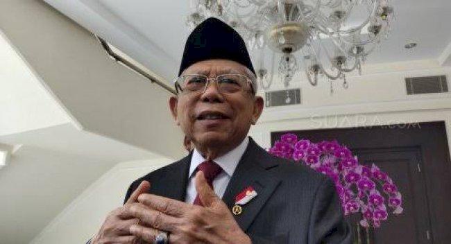 Wapres Maruf Minta Khutbah Keagamaan Jaga Kerukunan