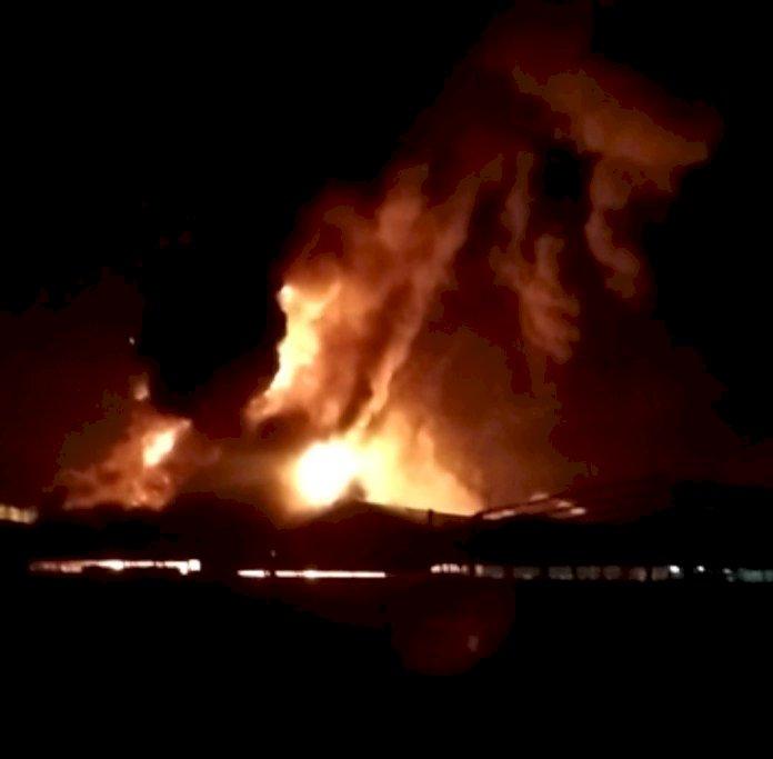 PT ABP Kubu Kandang Ludes Terbakar