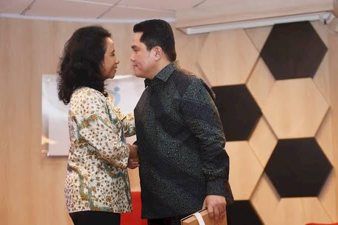 Usai Buang Anak Buah Rini, Erick Thohir Sisakan Tiga Jabatan Deputi Saja