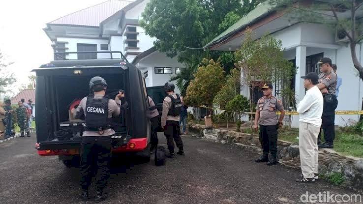 Ledakan Terjadi di Kantor Kejari Parepare Sulsel, Dua Rumah Terkena Dampak