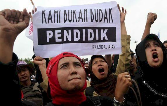 Pak Jokowi! Guru Honorer Lulus P3K Pertanyakan Nasibnya