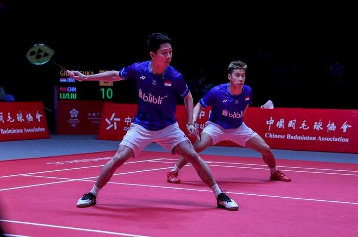 Kalah Dari Pasangan Jepang, Kevin/Marcus Gagal ke Final BWF World Tour Finals