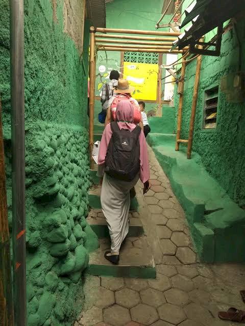 Kampung Labirin dari Kampung Padat Penduduk Jadi Destinasi Wisata Idola