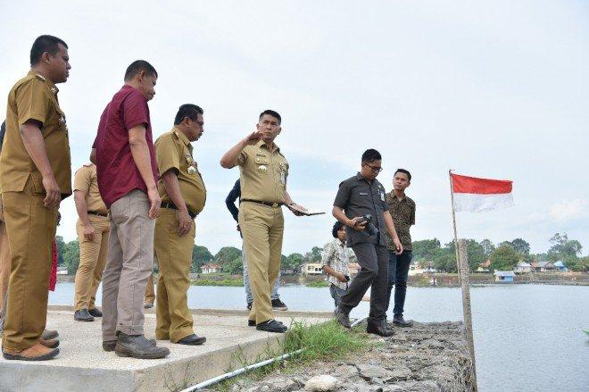 Percantik Kawasan Danau Sipin, 2021 Pemkot Jambi Anggarkan Jembatan Penyeberangan