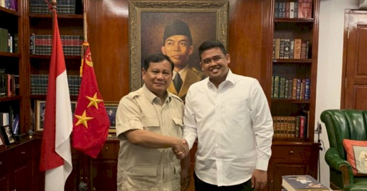 Begini Dua Pesan Penting Prabowo ke Bobby Nasution-Azizah