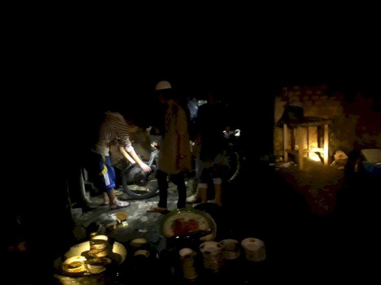Ditinggal Pergi Yasinan, Rumah Warga Jaluko Muarojambi Ini Ludes Terbakar