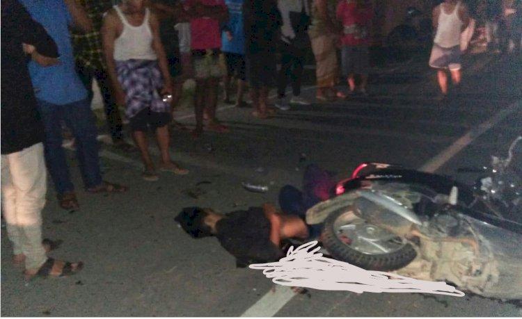 Adu Kambing, 2 Pelajar SMP dan 1 Pemuda Merangin Tewas di Jalan