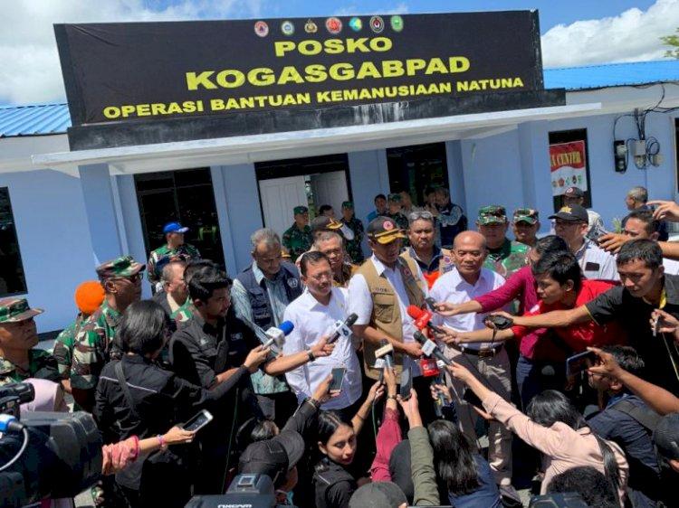Pemerintah Kawal Kepulangan 285 WNI dari Natuna, Jokowi: Masyarakat Jangan Takut