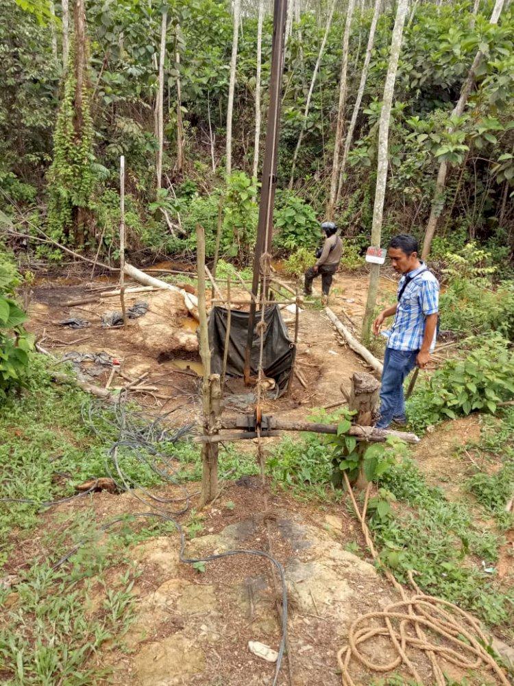 Razia Ilegal Drilling di Mandiangin Sarolangun Diduga Dibocorkan, Para Pekerja Menghilang