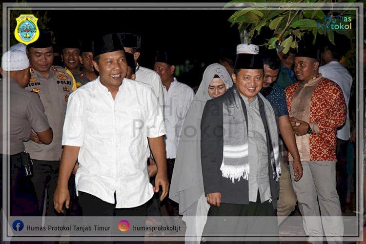 Bupati Tanjab Timur Hadiri Tabligh Akbar Kementerian Agama Republik Indonesia Ke-74