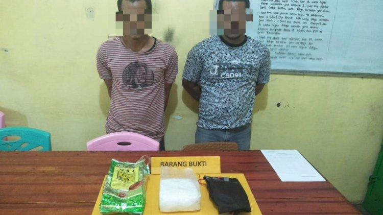 Bawa Sabu Seberat 1 Kg, Dua Pria Ini Diamankan Polisi Sarolangun